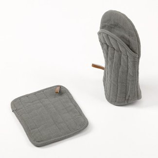 Simla Potholder grey 18x22