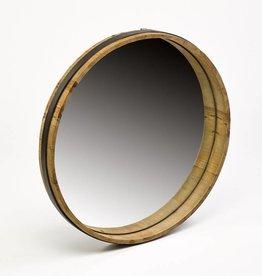 Simla Spiegel rond hout naturel dia 65 H7cm
