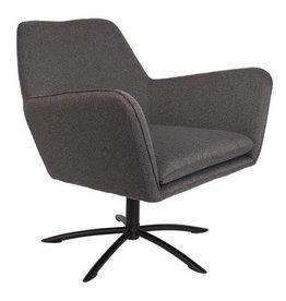 lounge chair Knut dark Grey