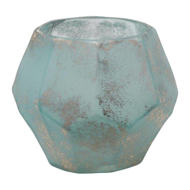 Kosta blue organisc shake glass stormlight s