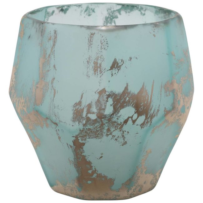 PTMD kosta blue organic shape glass stormlight L