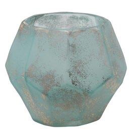 kosta blue organic shape glass stormlight XS