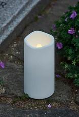 Cemetry light white Theo H 12,5 centimer