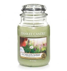Yankee Candle a child's wish large jar