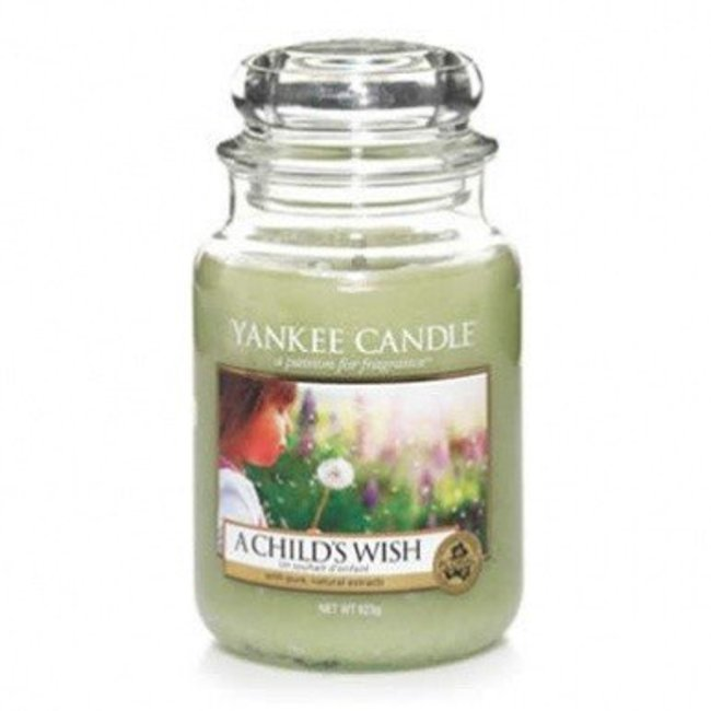 Yankee Candle a child's wish large jar