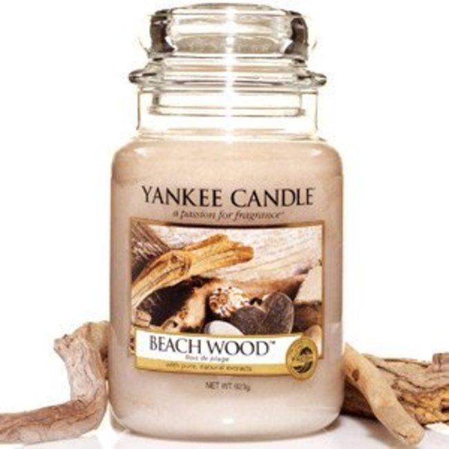 Beach wood large jar