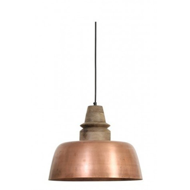 hanglamp Marleen hout weather BA dia 40