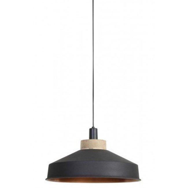 hanglamp Mira grafiet- koper