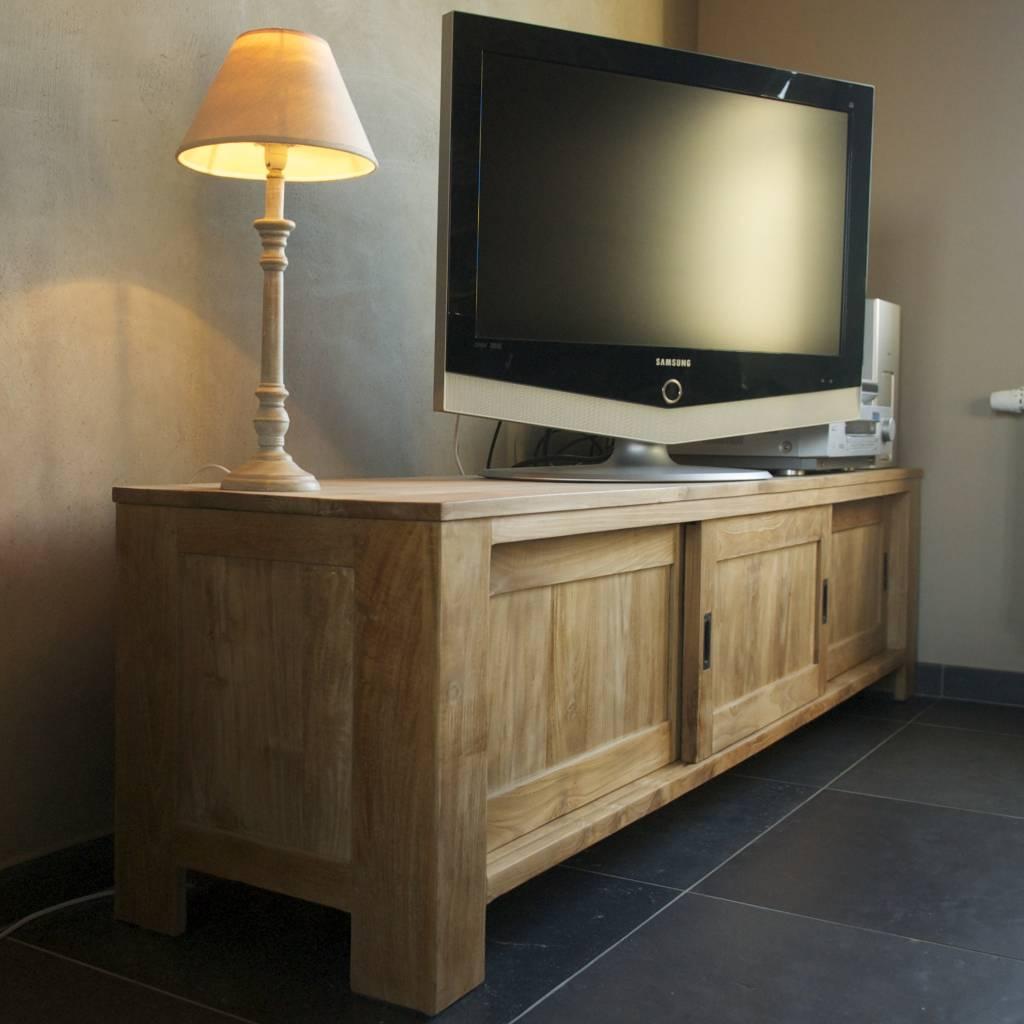 Tv Kast Schuifdeur.Tv Kast Met Schuifdeuren 160 X 45xh50