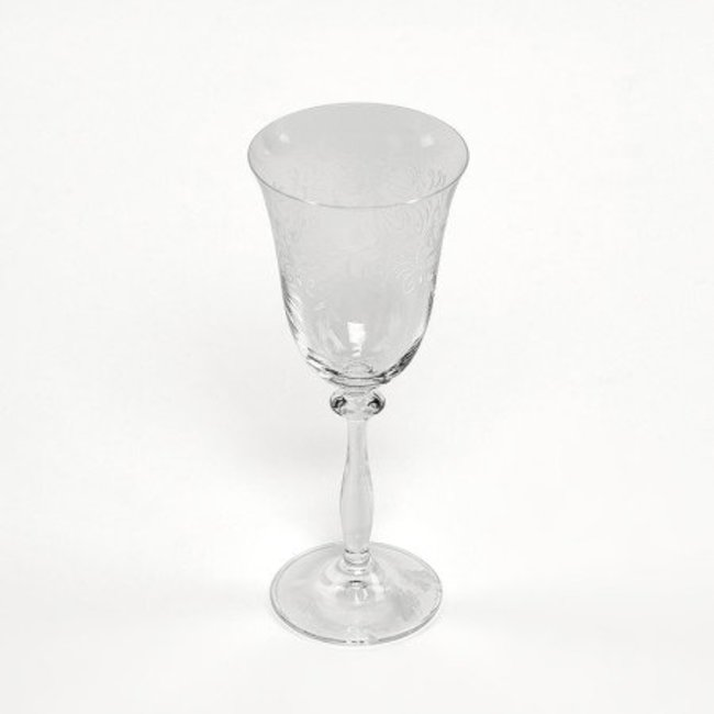 Glass angela red wine 250 ml set/6
