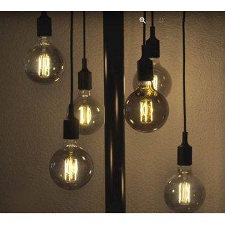 Segula Design lamp silicone holder black 2 m
