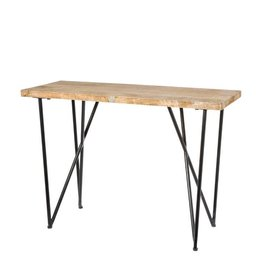 Side table brooklyn bruin 90 cm