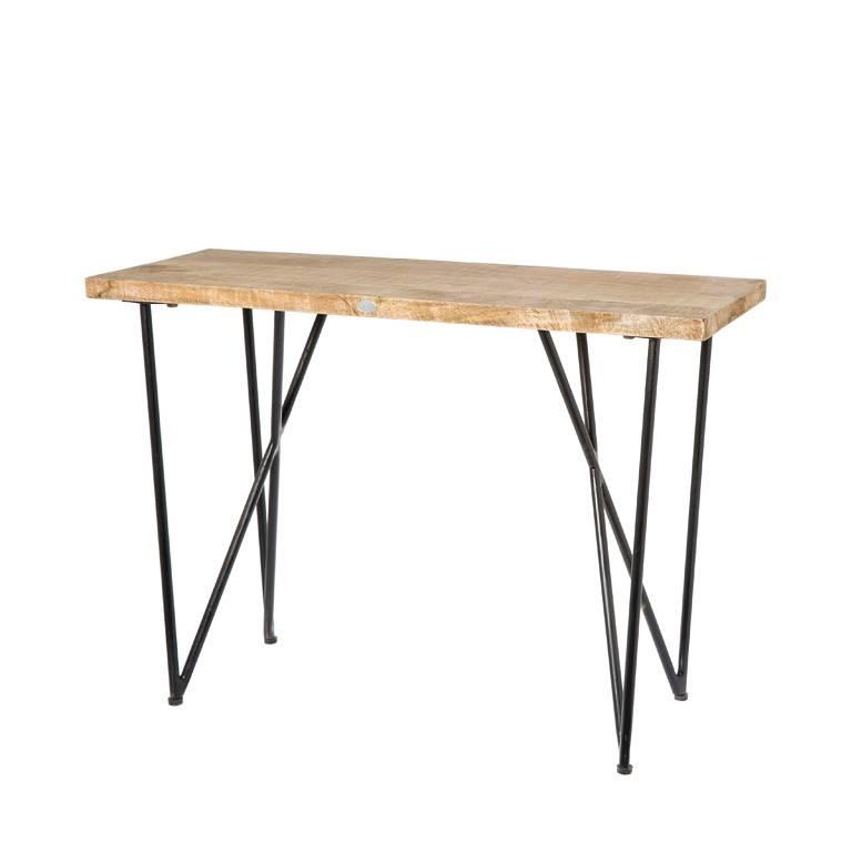 Side Table Bruin.Side Table Brooklyn Bruin 90 Cm