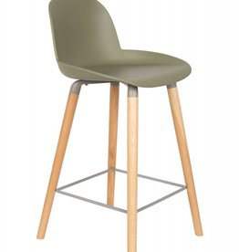 counter chair albert kuip green
