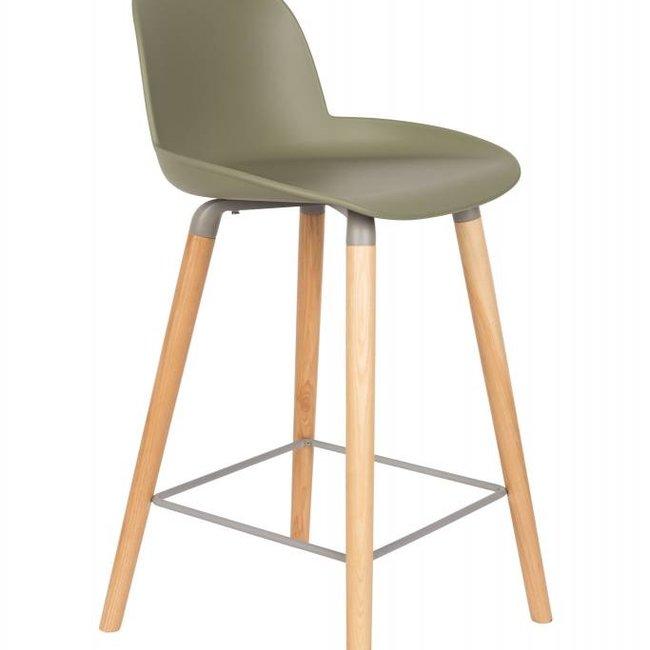 counter chair albert kuip green