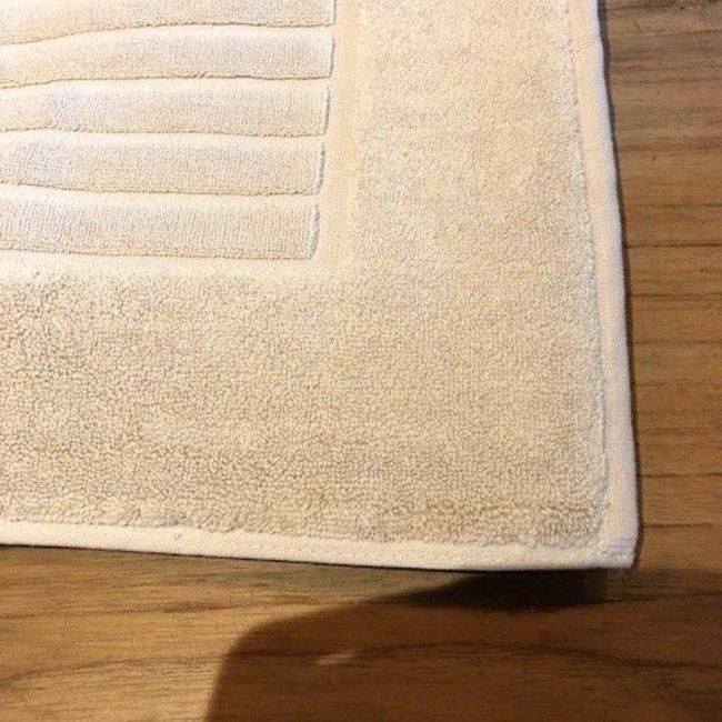 badmat  katoen  ribbed linnen