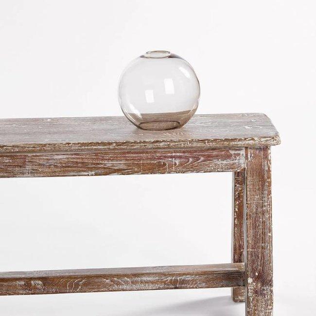 glas globe groot topaz