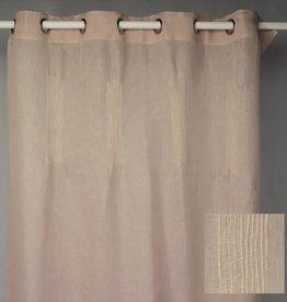 gordijnen- linnen Dusty Pink