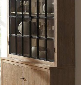 Alice vitrine weathered oak 150