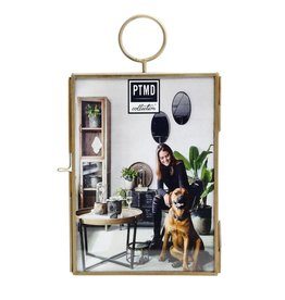 Yves iron brass wall photoframe  S