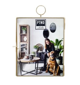 Yves iron brass wall photoframe L