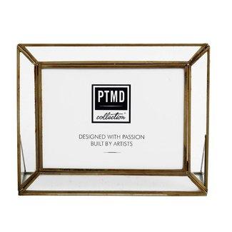 PTMD Kayan iron brass photoframe landscape