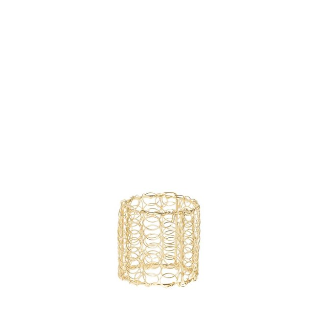 servetring couture wire goud 4 cm