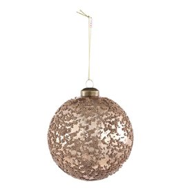 Christmas britt gold glass with Brads m