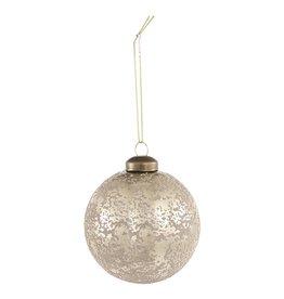 Christmas britt silver glass ball s