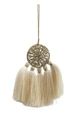 Christmas Dreamliner Cream hanger with tassels s
