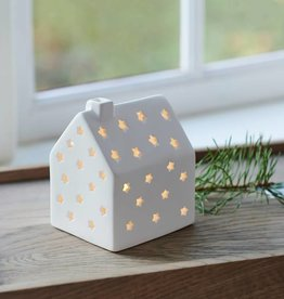 janet house small H10 cm white