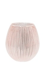Sfeerlicht glow roze 15 cm