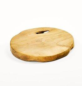 Simla Root slice teak natural