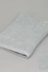 Badhanddoek ribbed grijsblauw 50x100