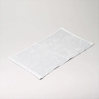 gastendoekje light grey -blue 30x50 cm