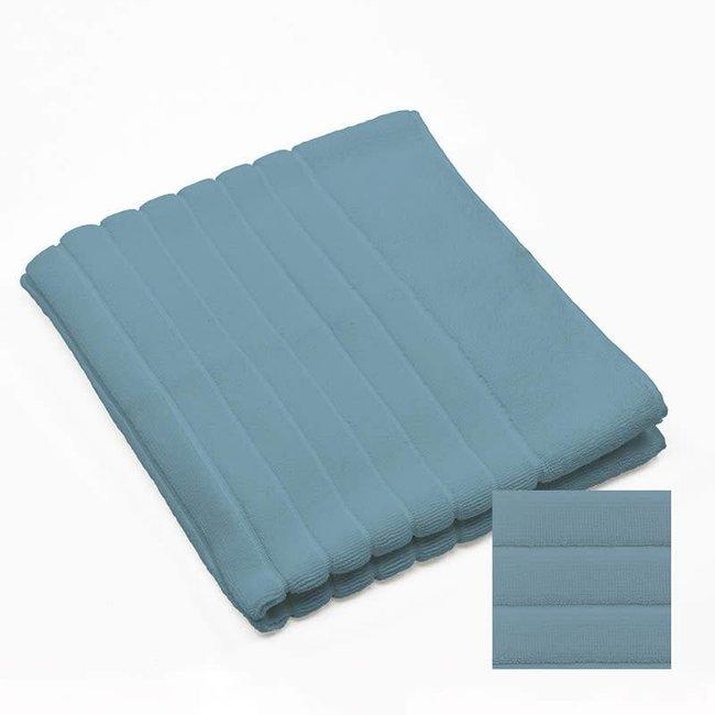badmat katoen 1000 gsm jeansblue 60x90 cm