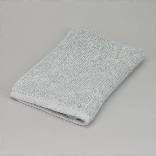 Badhanddoek katoen grijsblauw70x140