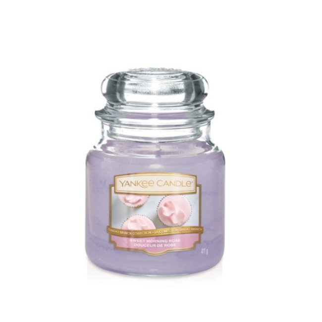 Sweet morning rose medium jar