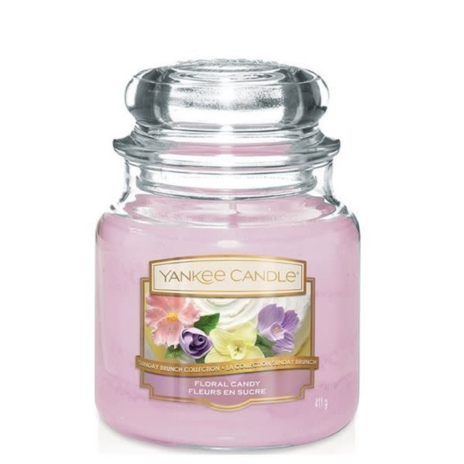 Floral Candy medium jar