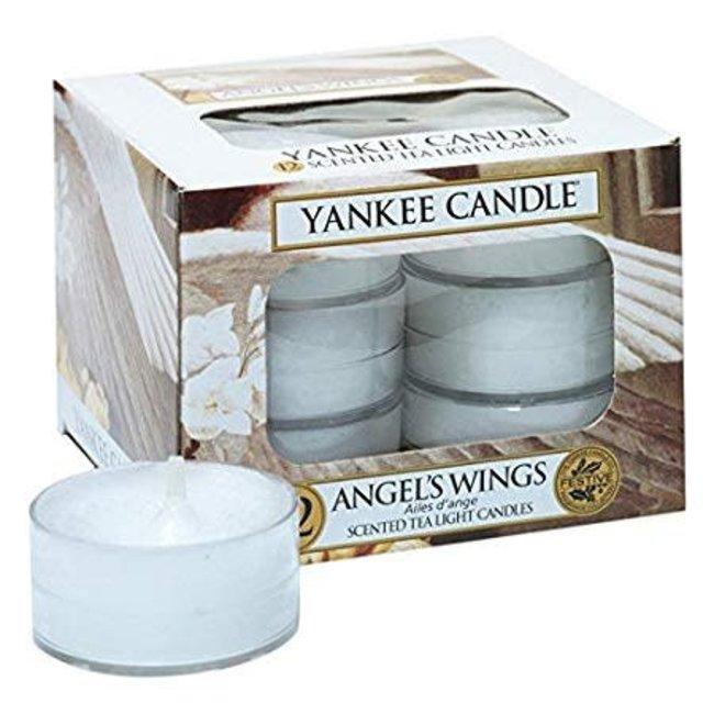 Angel's wings tealights