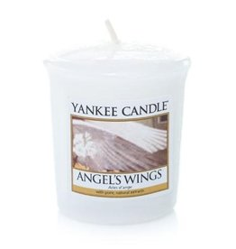Angel's wings votive