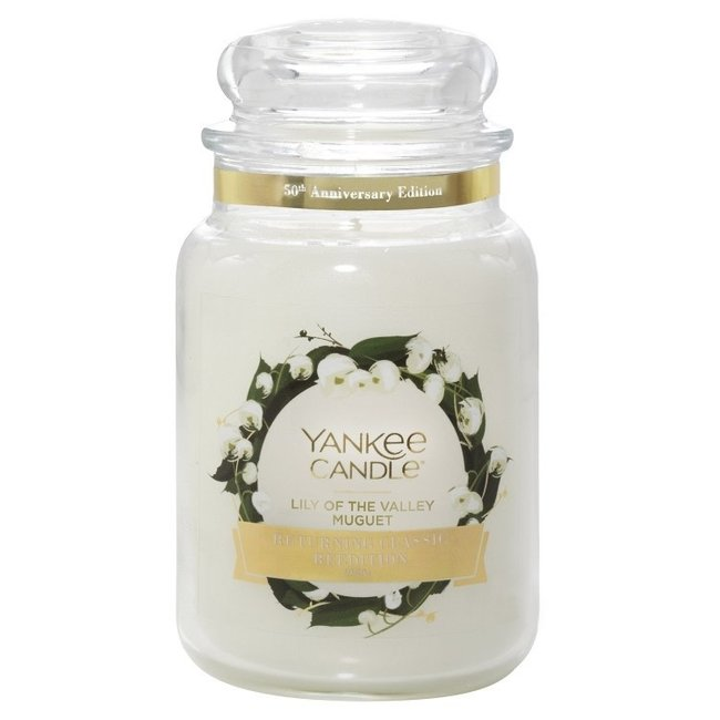Yankee Candle Lily of the valley large jar