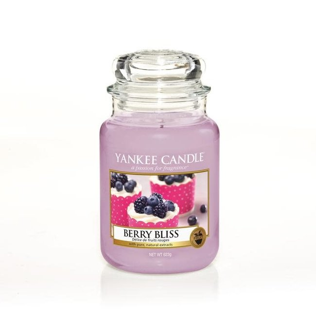 Yankee Candle Berry bliss large jar' limited edition'