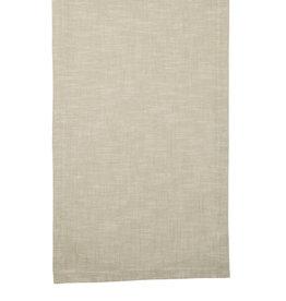 Tafelloper katoen beige 45x150