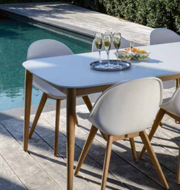 design chair outdoor Stockholm white