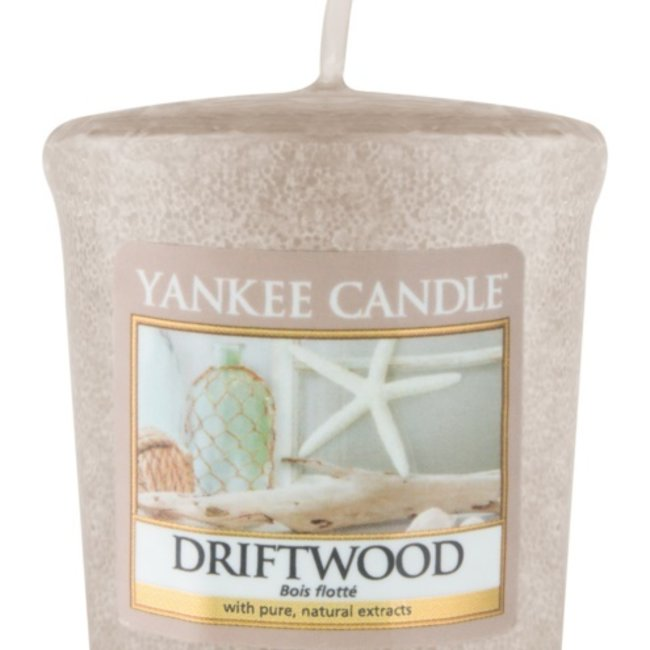 Driftwood votive