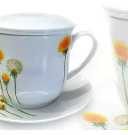 Theetas Yellow flower met filter