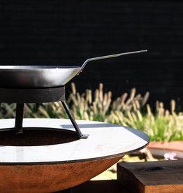 wok pan op opzet voor de 88