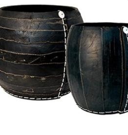Tadé Corbeille gigognes- collection zebra  smal dia 28 xH30