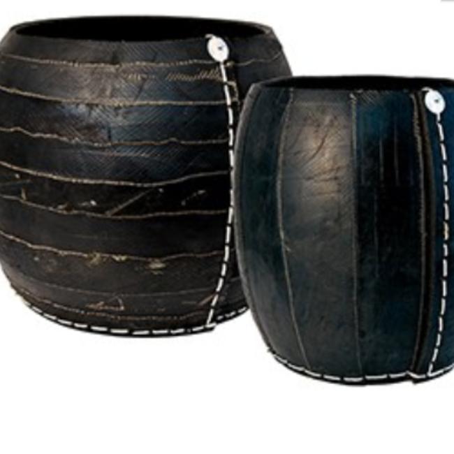Corbeille gigognes- collection zebra  smal dia 28 xH30